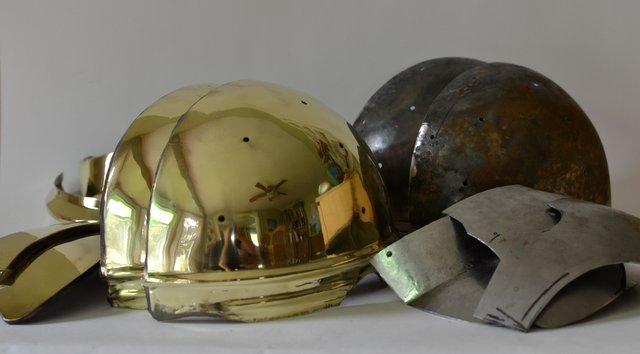 Late Roman ridge helmet, part 1
